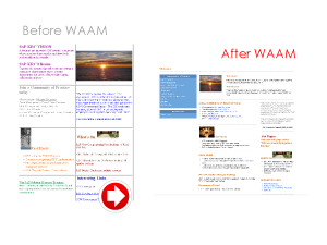 WAAM-before-after-creative-web-design-website-solution-transformation-DeptCommNSW