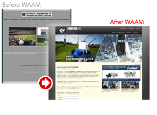 WAAM-before-after-creative-web-design-website-solution-transformation-fountainline